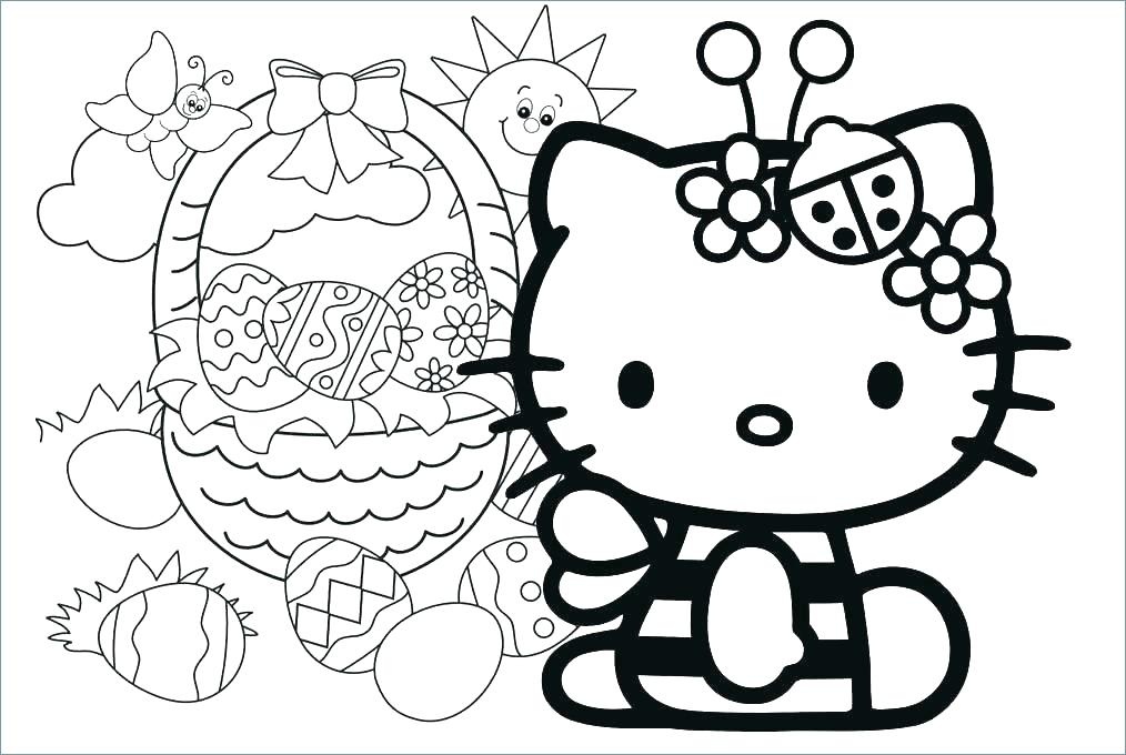 1014x680 Hello Kitty Family Colouring Pages And Friends Coloring Characters