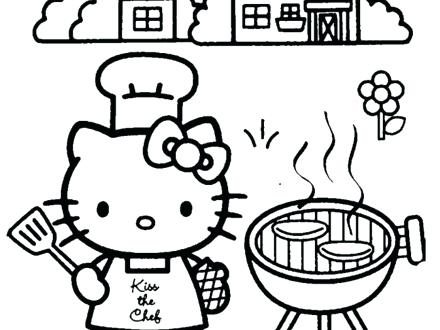 440x330 Hello Kitty Family Colouring Pages Friends And Coloring For Good