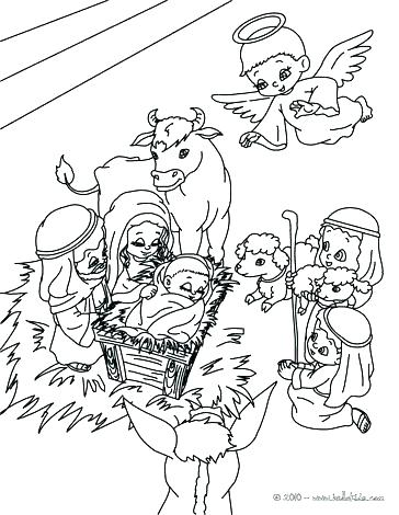 364x470 Holy Family Coloring Pages Holy Family Coloring Pages Holy Family