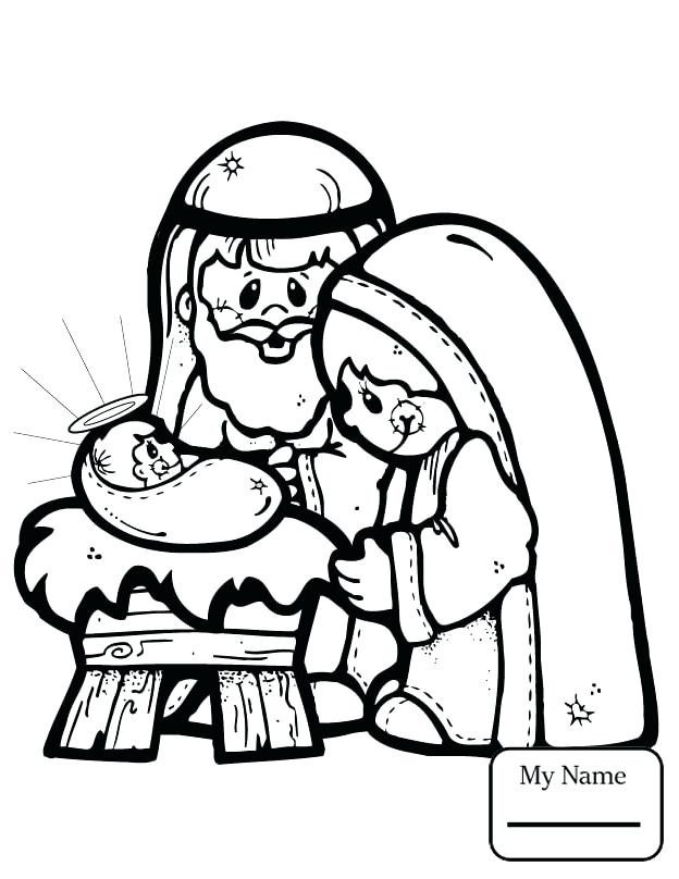 624x808 Holy Family Coloring Pages Nativity Bible Mother With Baby
