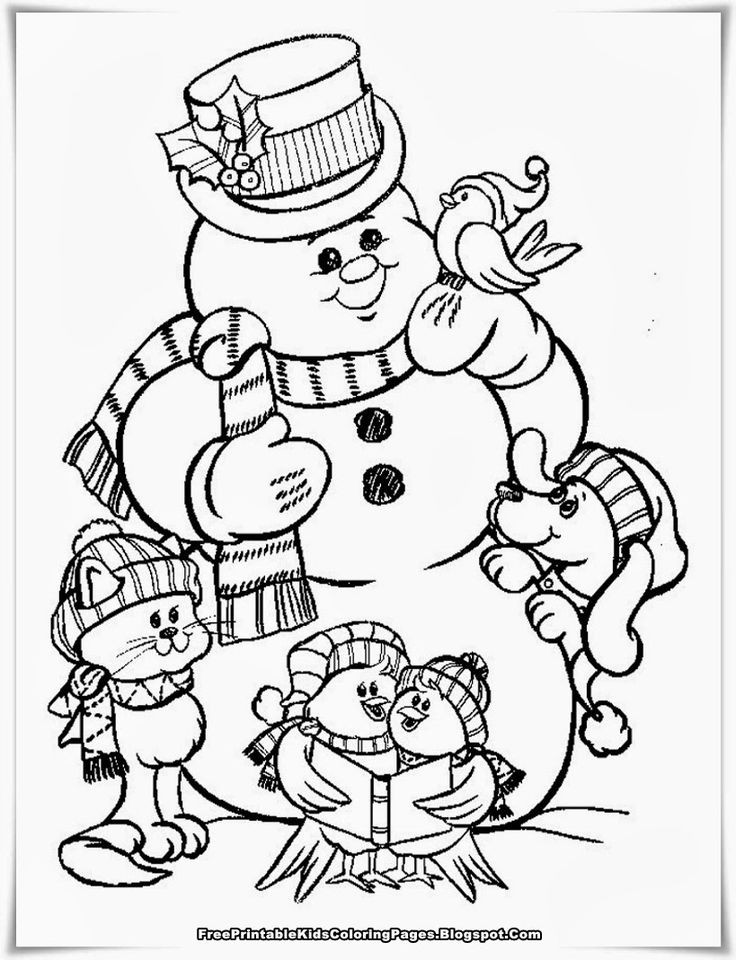 736x960 Snowman Family Coloring Page Awesome Mejores De