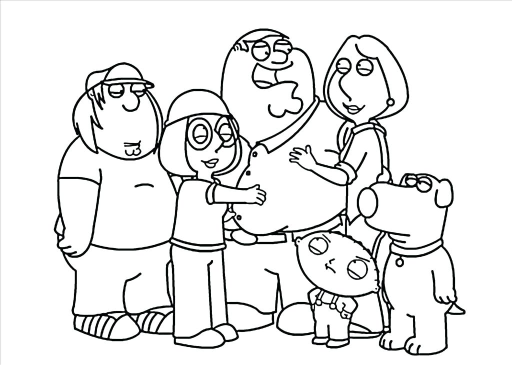 1024x730 Family Coloring Page Family Coloring Pages Family Coloring Pages