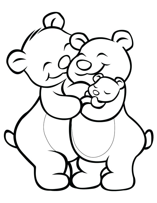 640x828 Family Coloring Page Family Coloring Pages Free