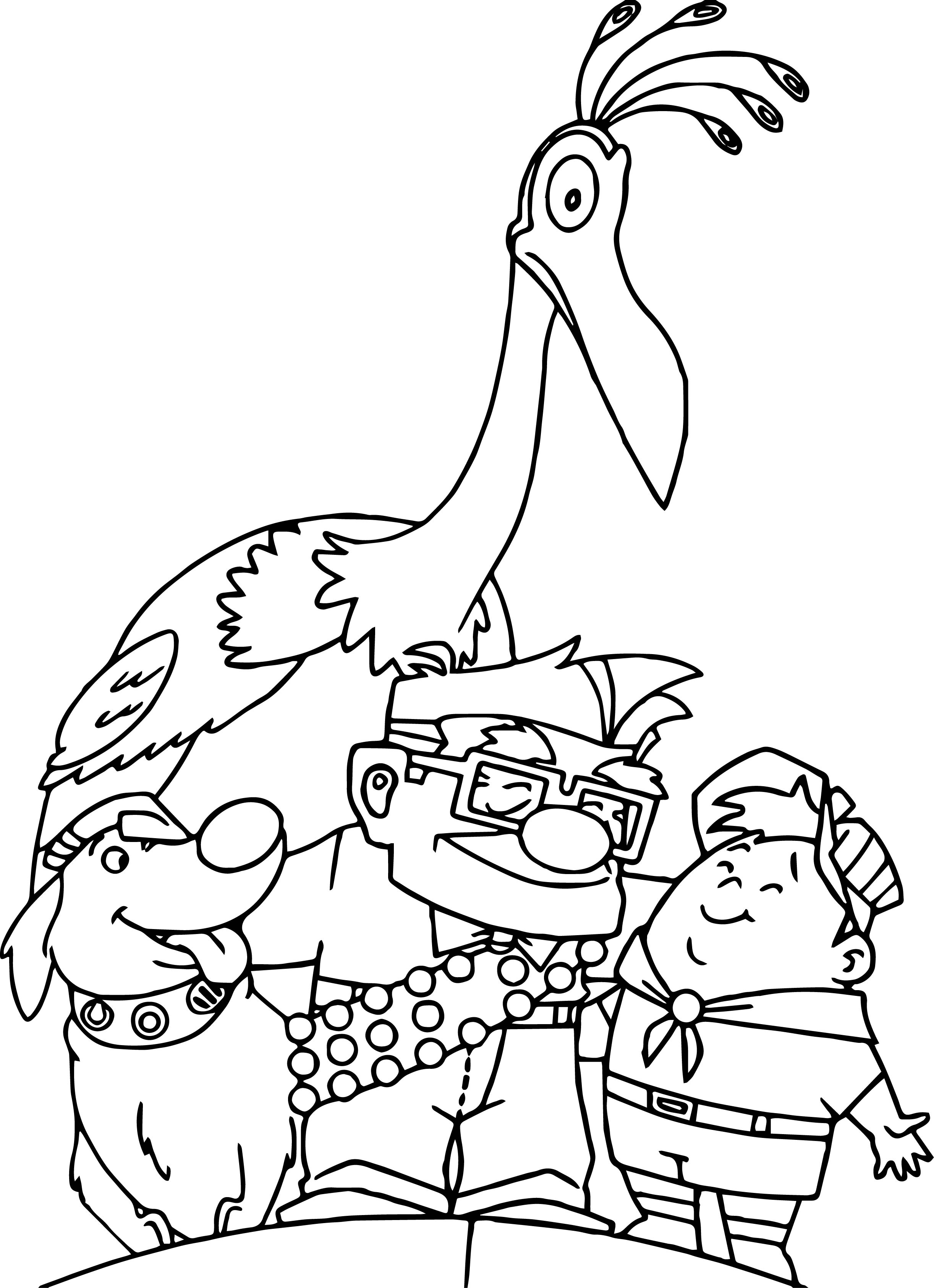 2445x3373 Family Coloring Pages