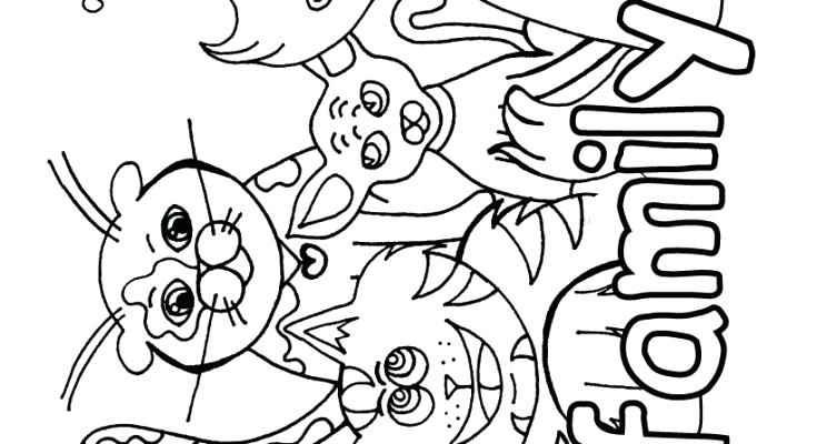 735x400 Global Coloring Coloring Page Family Coloring Pages Free Cat