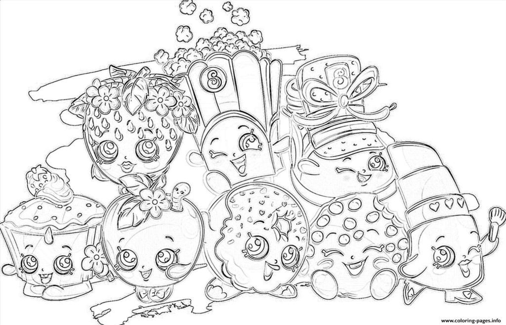 1024x657 All Coloring Pages Print Shopkins All The Family Coloring Pages