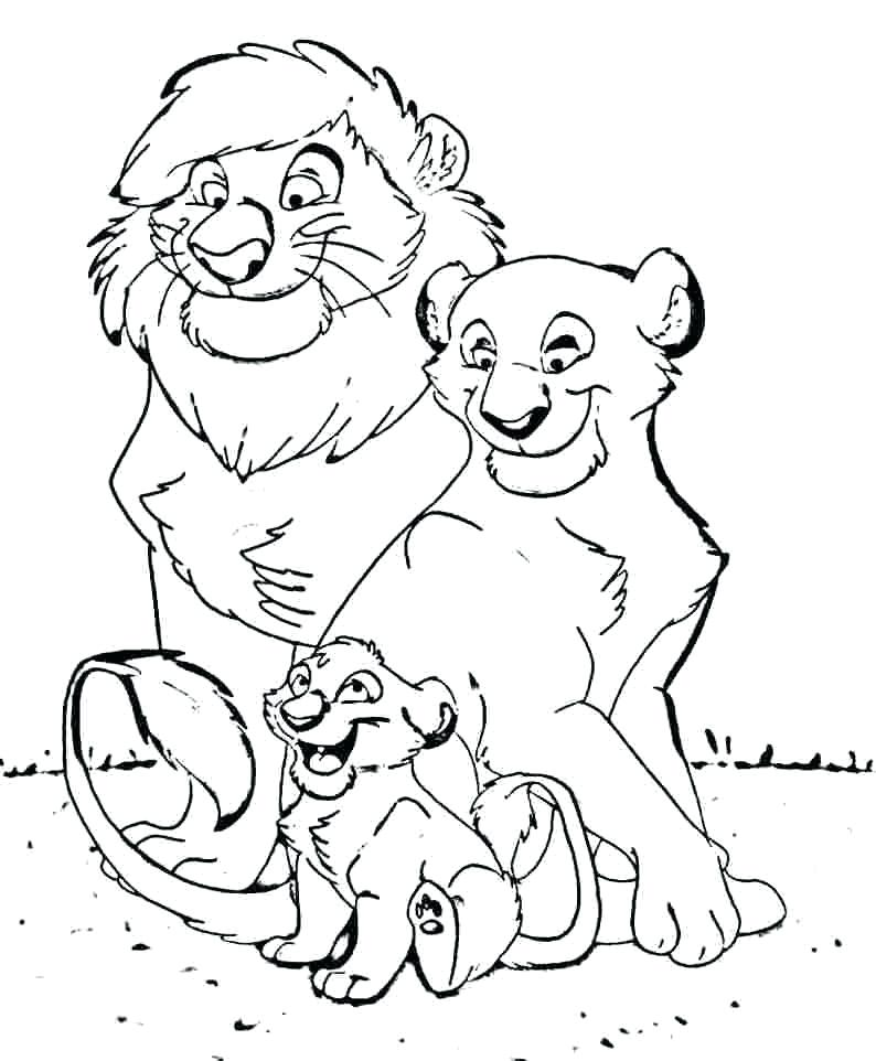 794x962 Family Coloring Page