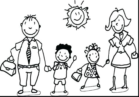 476x333 Coloring Pages Family Family Coloring Pages Coloring Pages Family