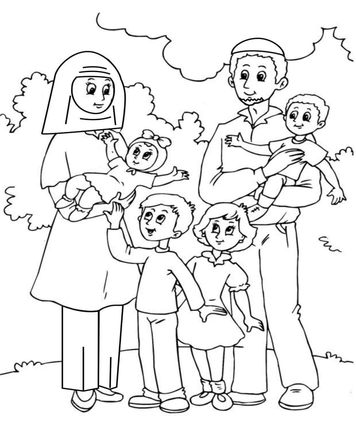 1169x1410 Evening Coloring Pages Family Family Coloring Pages For Adults