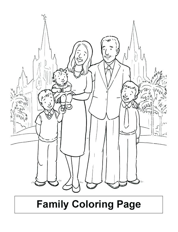 600x780 Coloring Pages Family Guy Family Coloring Pages Family Coloring
