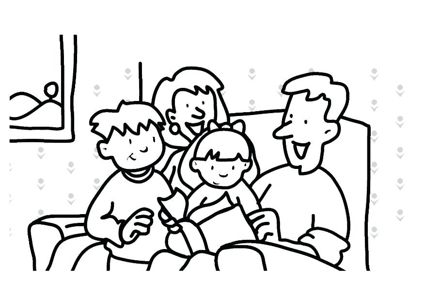 875x620 Family Coloring Pages Happy Family Coloring Pages Family Guy