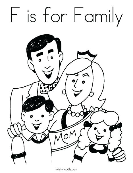 468x605 Proud Family Coloring Pages Family Tree Coloring Page Family Tree