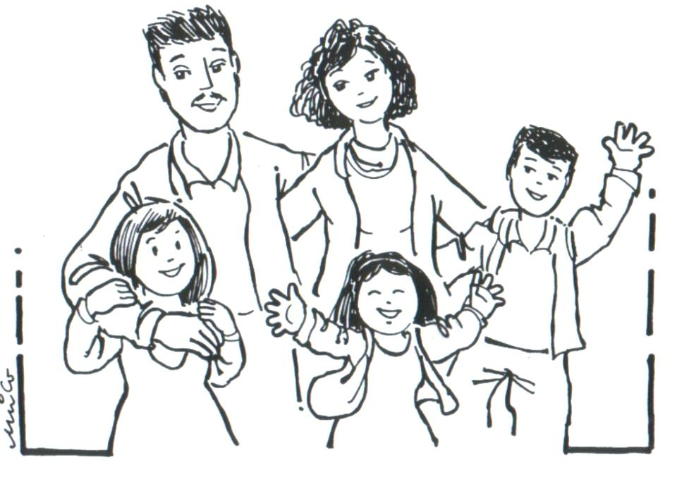 960x687 Family Coloring Pages Printable