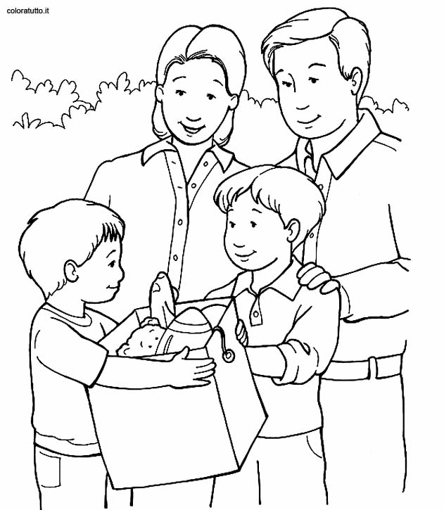 631x725 Family Coloring Pages