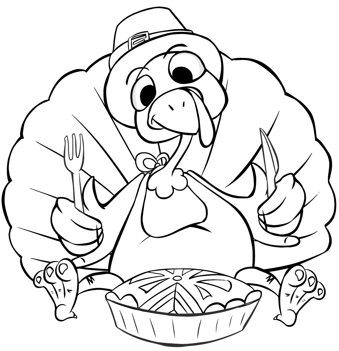 1159x1200 Thanksgiving Dinner Coloring Pages Printables Family Feast