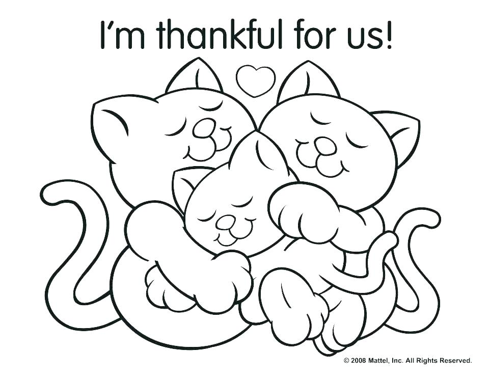 960x742 Thanksgiving Family Dinner Coloring Pages Of Ng Feast Printable