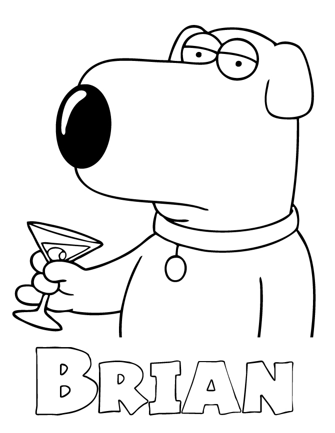 670x867 Elegant Family Guy Coloring Pages Logo And Design Ideas