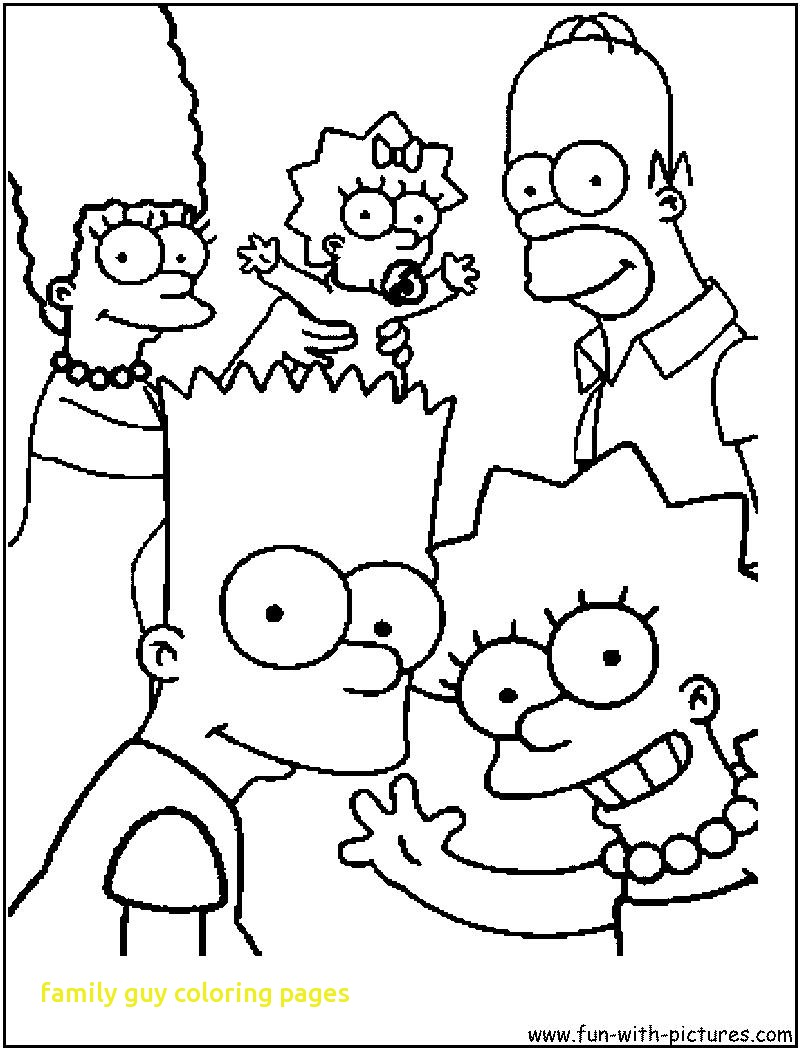 800x1050 Family Guy Coloring Pages Free Kids Printable To Color Images Hd