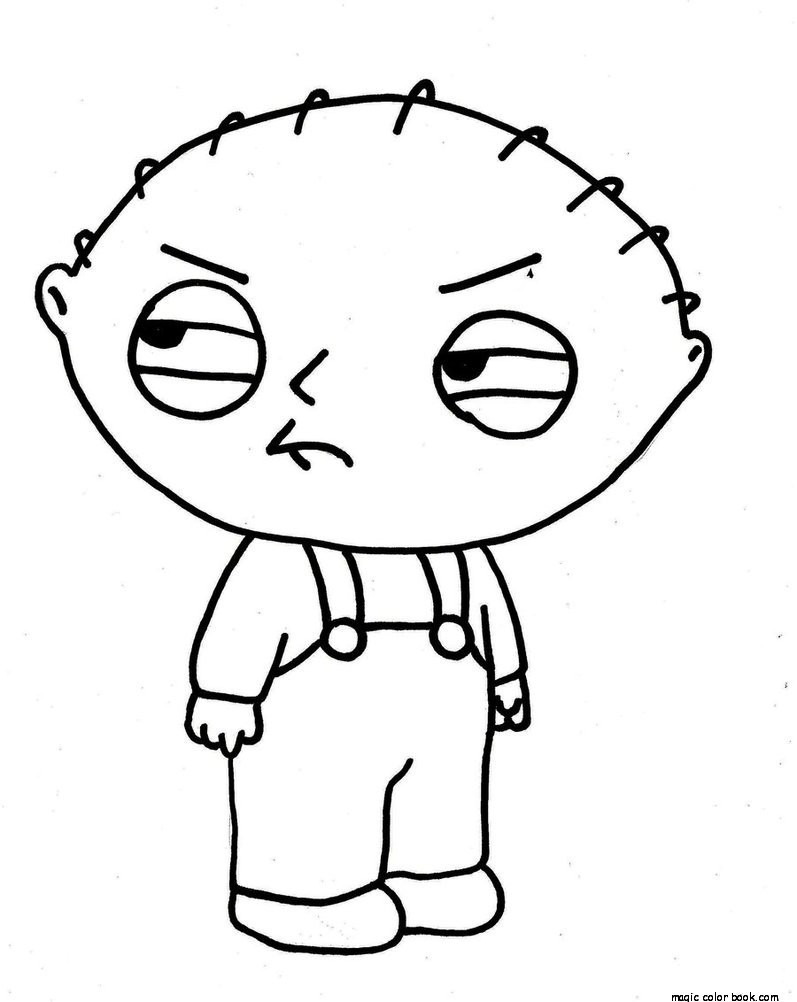 797x1002 Family Guy Coloring Pages Free Print Boys