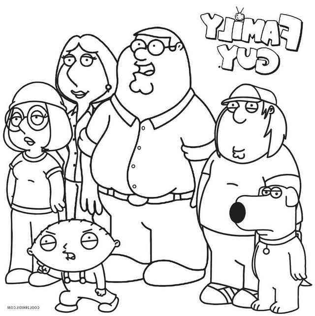640x642 Family Guy Coloring Pages Forever Coloring
