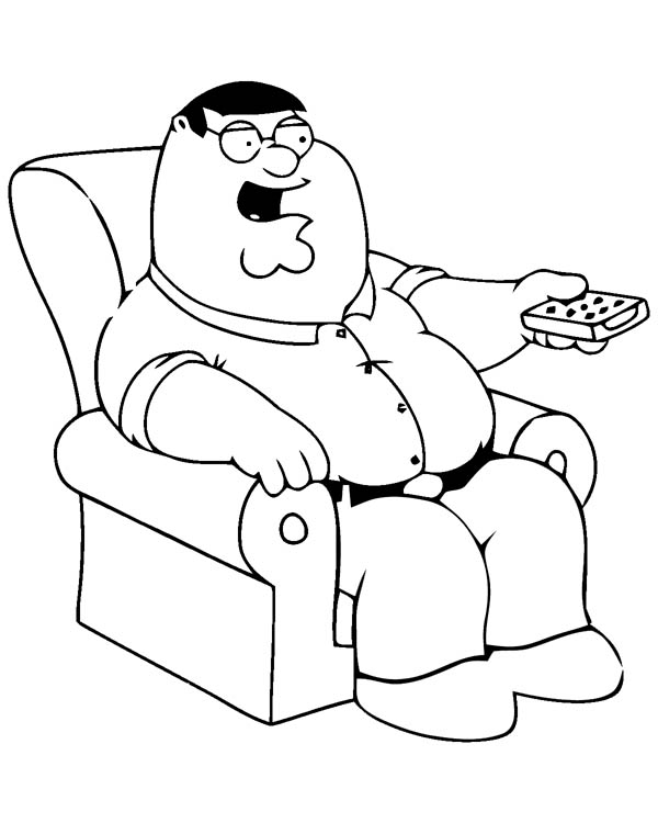 600x750 Family Guy Coloring Pages
