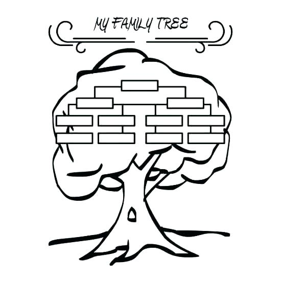550x550 Family Tree Coloring Page Family Fun Printable Coloring Pages