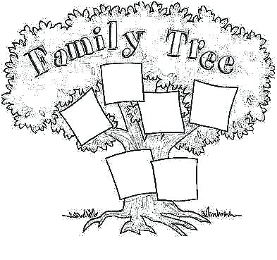 393x369 Family Tree Coloring Page Family Tree Coloring Pages Printable My