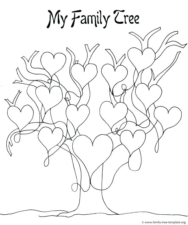 618x740 Printable Family Coloring Page Family Tree Coloring Pages