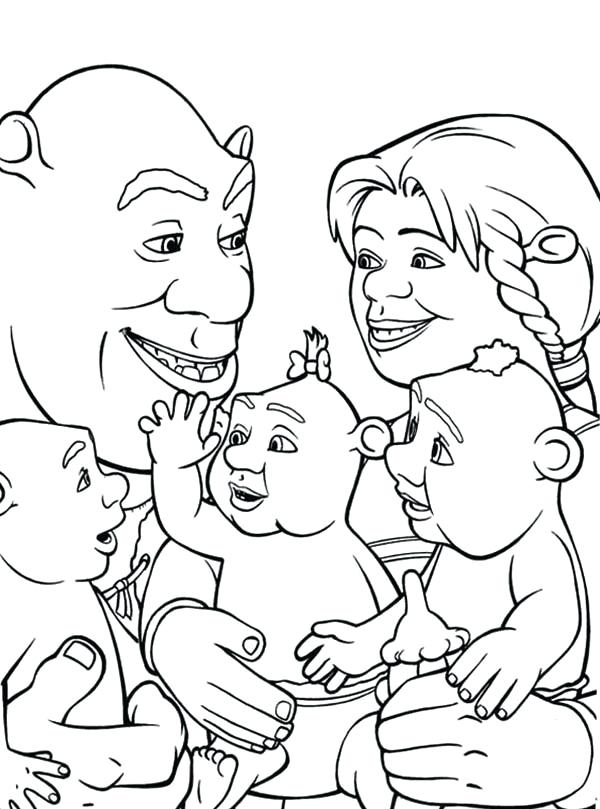 Family Members Coloring Pages