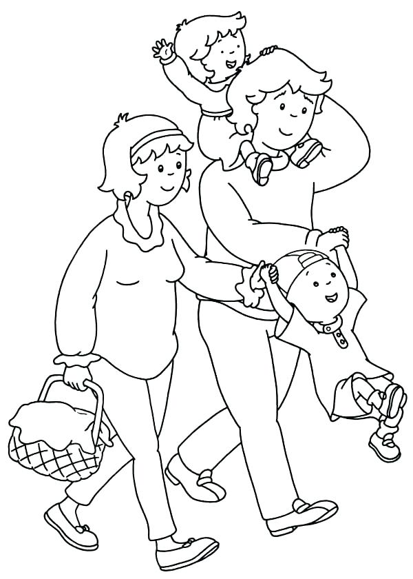 600x840 Family Coloring Pages Printable Family Coloring Page Family Is