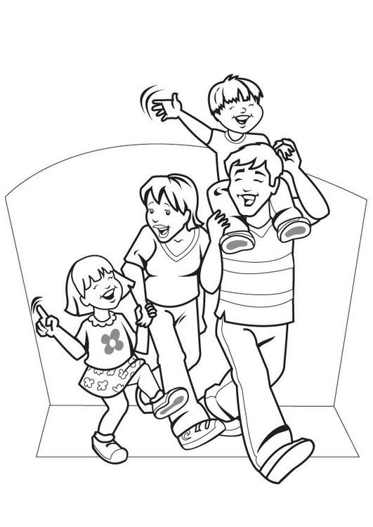 531x750 Awesome Family Coloring Pages For Toddlers Family Coloring Pages