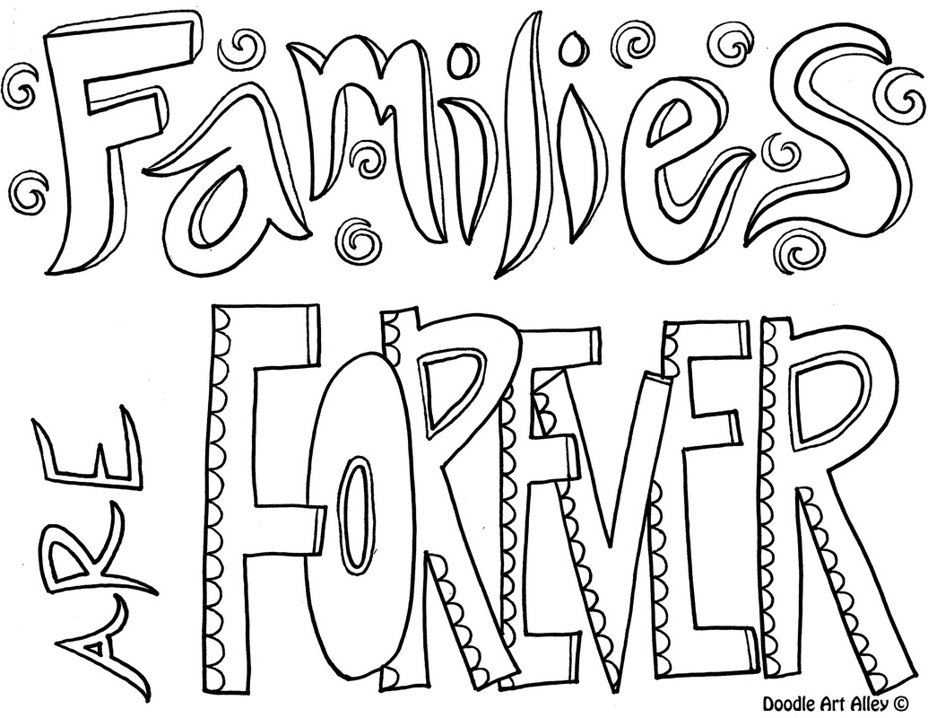 1035x800 Family Coloring Pages Religious Doodles Ribsvigyapan Family Family