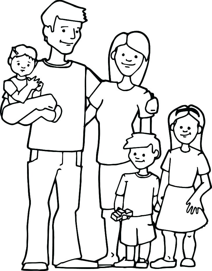 728x931 Coloring Pages Family Family Coloring Pages Coloring Pages Family