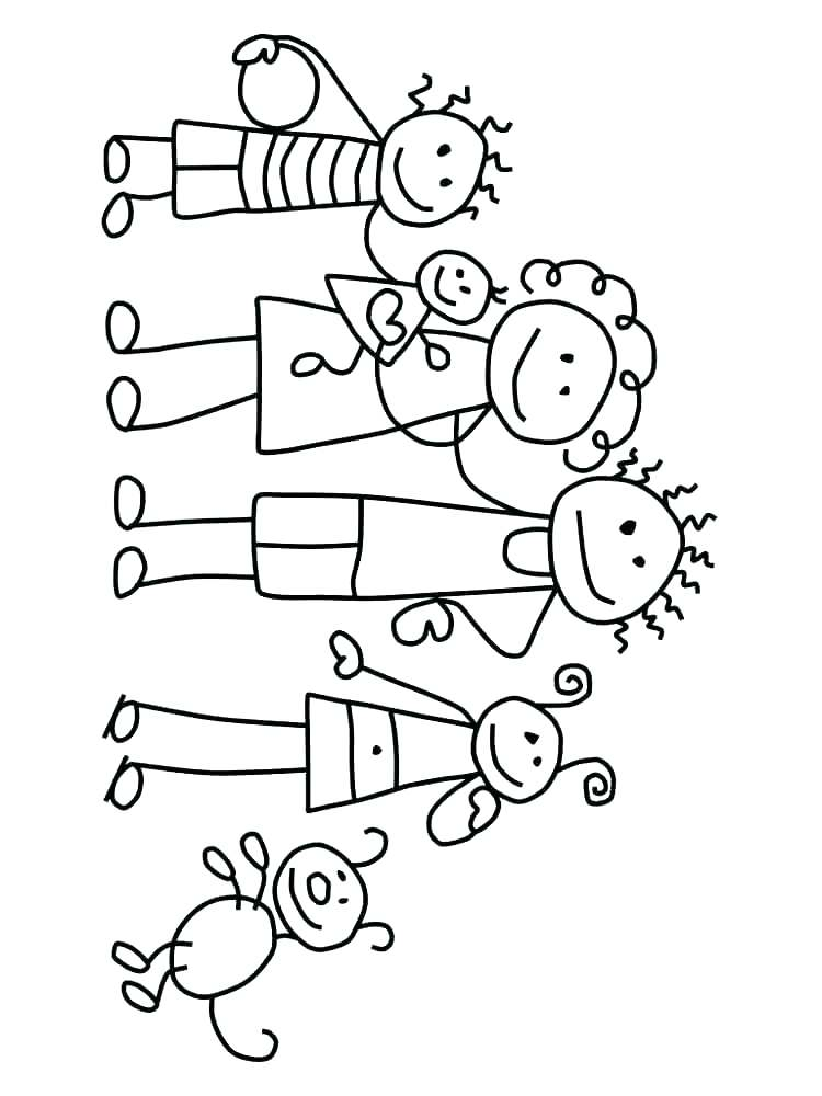 750x1000 Family Coloring Pages Holy Family Coloring Pages Family Coloring