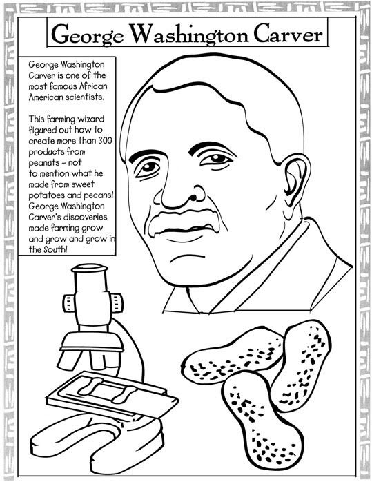 539x698 Coloring Pages Of African American Inventors