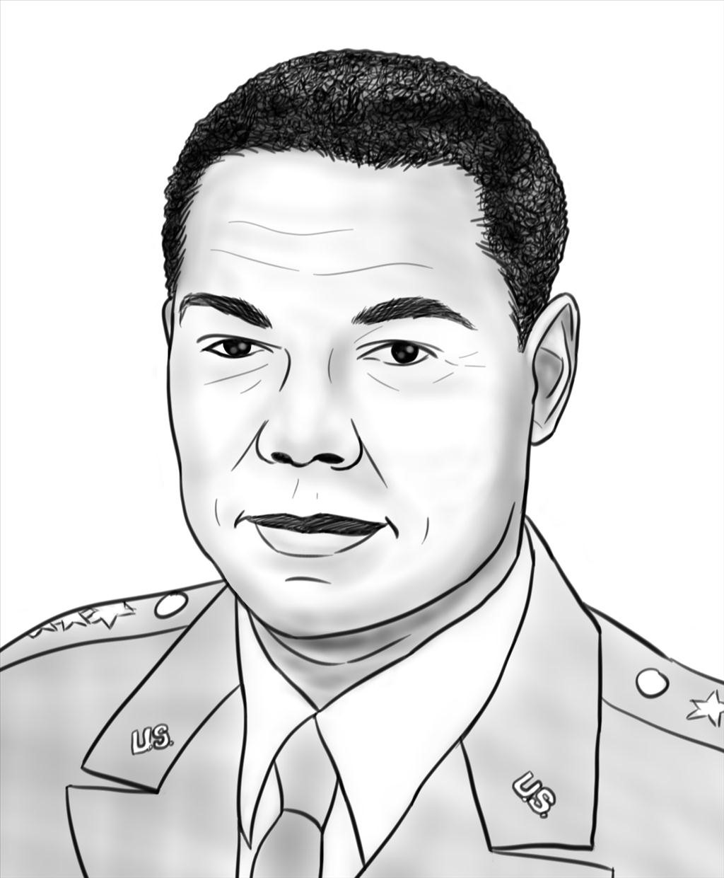 1024x1241 Famous African American Coloring Pages