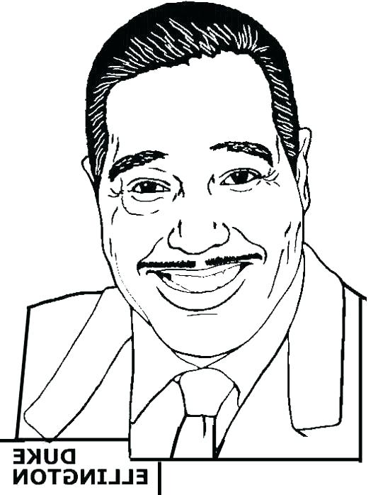 534x698 Famous African American Coloring Pages Famous Coloring Pages Every