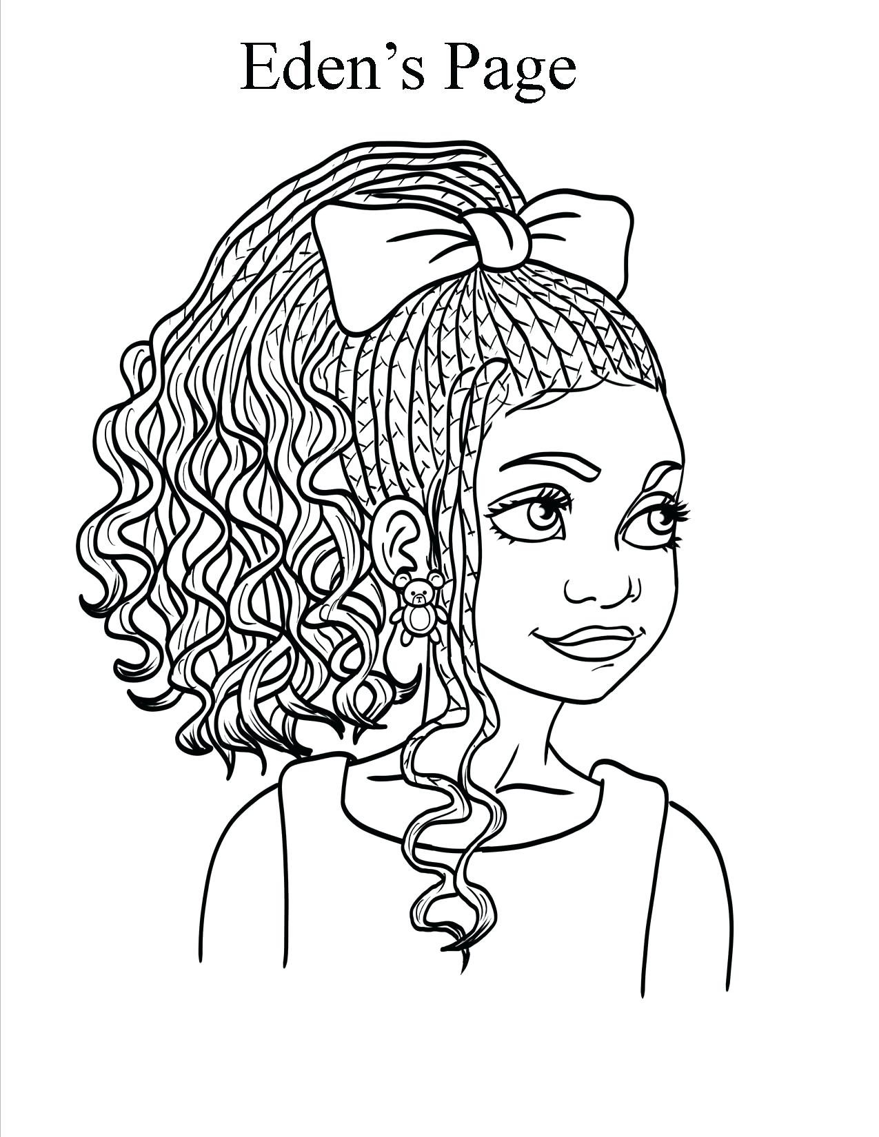 1275x1650 Famous African American Coloring Pages Printable Black