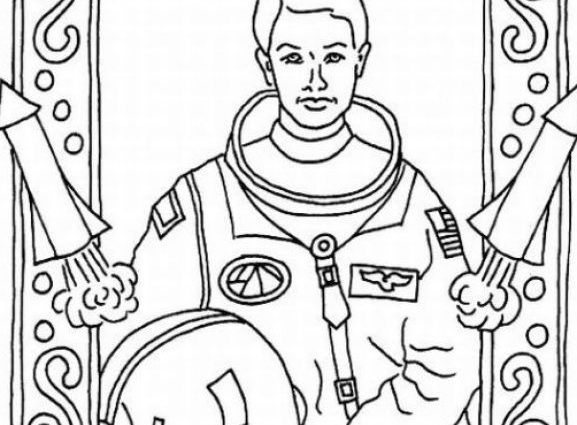 577x425 African American History Coloring Pages Famous African Americans