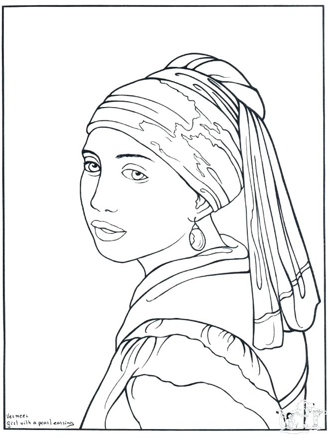 660x880 Famous Artist Coloring Pages Delectable Famous Artists Coloring