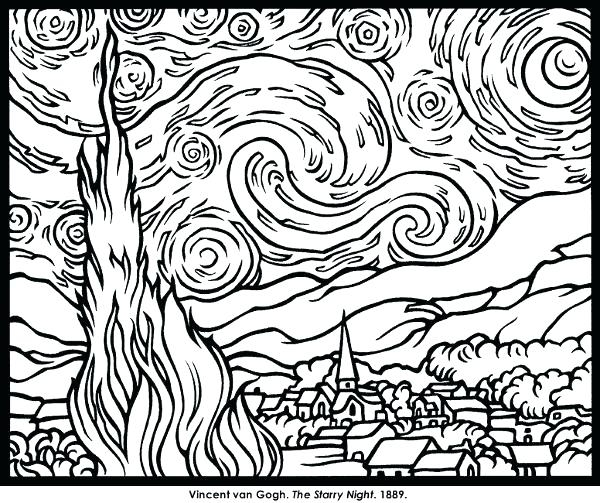 600x503 Famous Artist Coloring Pages Popular Famous Artist Coloring Pages