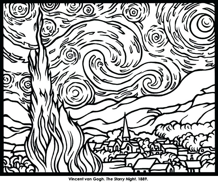 716x600 Famous Artist Coloring Pages X Famous Artists Coloring Pages Free