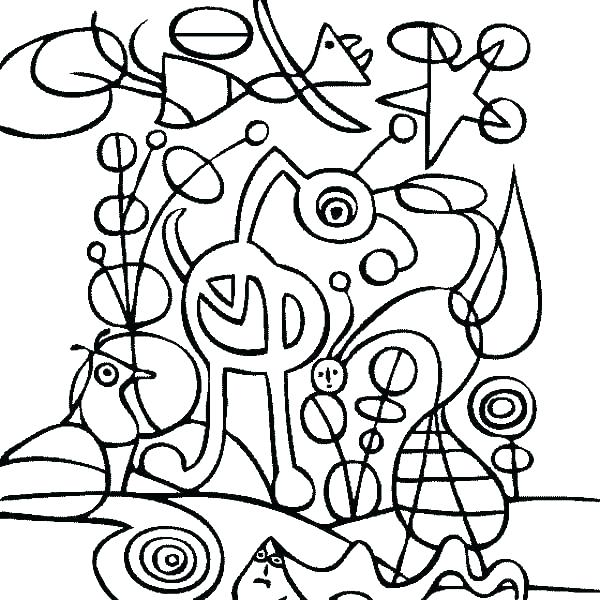 600x600 Famous Artists Coloring Pages Famous Paintings Coloring Pages