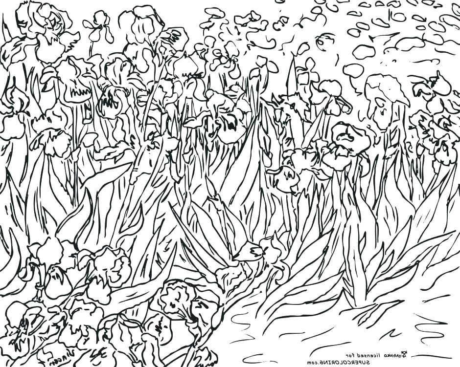 940x751 Famous Artwork Coloring Pages Free Art Coloring Pages A Famous