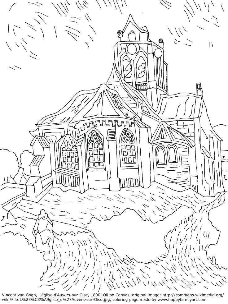 736x978 Famous Artist Coloring Pages