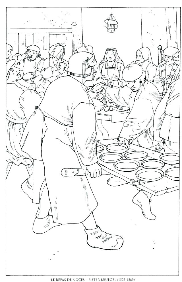 640x989 Famous Painting Coloring Pages Famous Painting Coloring Pages