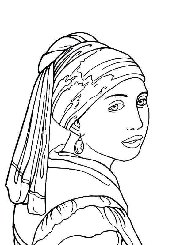 600x800 Famous Artwork Coloring Pages Free Coloring Pages Of Famous