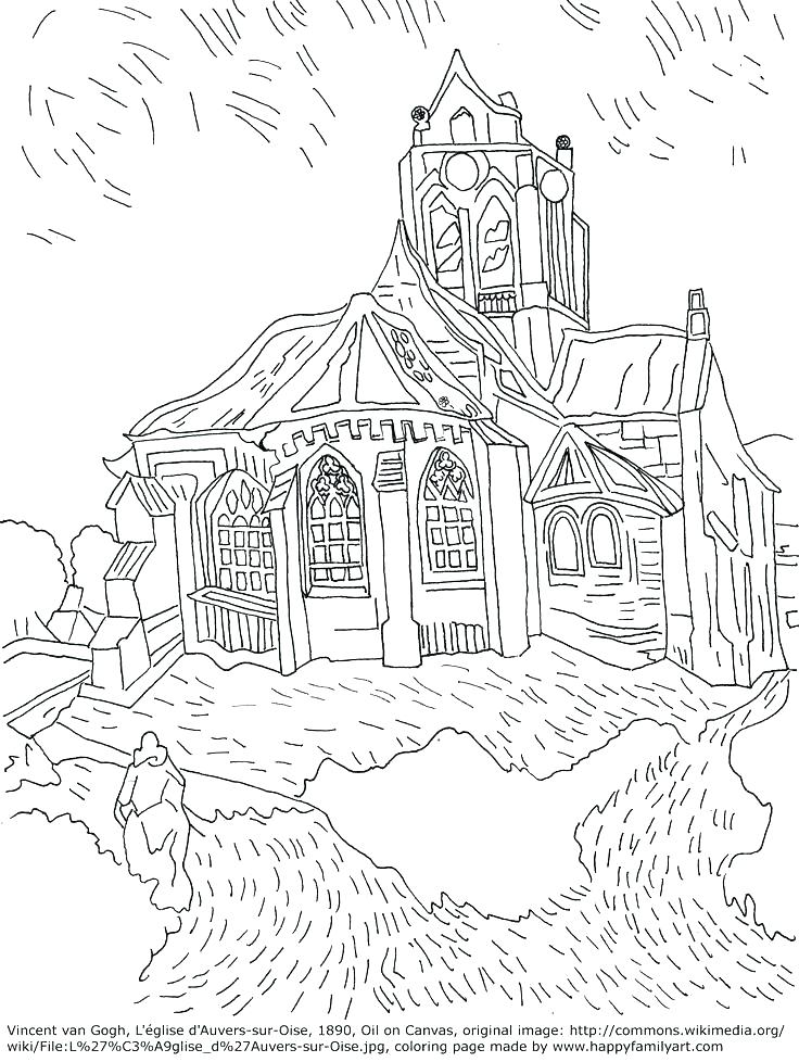736x978 Famous Works Of Art Coloring Sheets Famous Artwork Coloring Pages