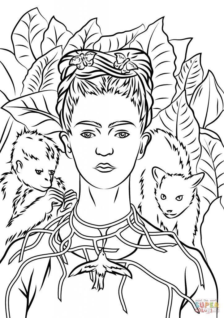 Famous Paintings Coloring Pages at GetDrawings.com | Free ...