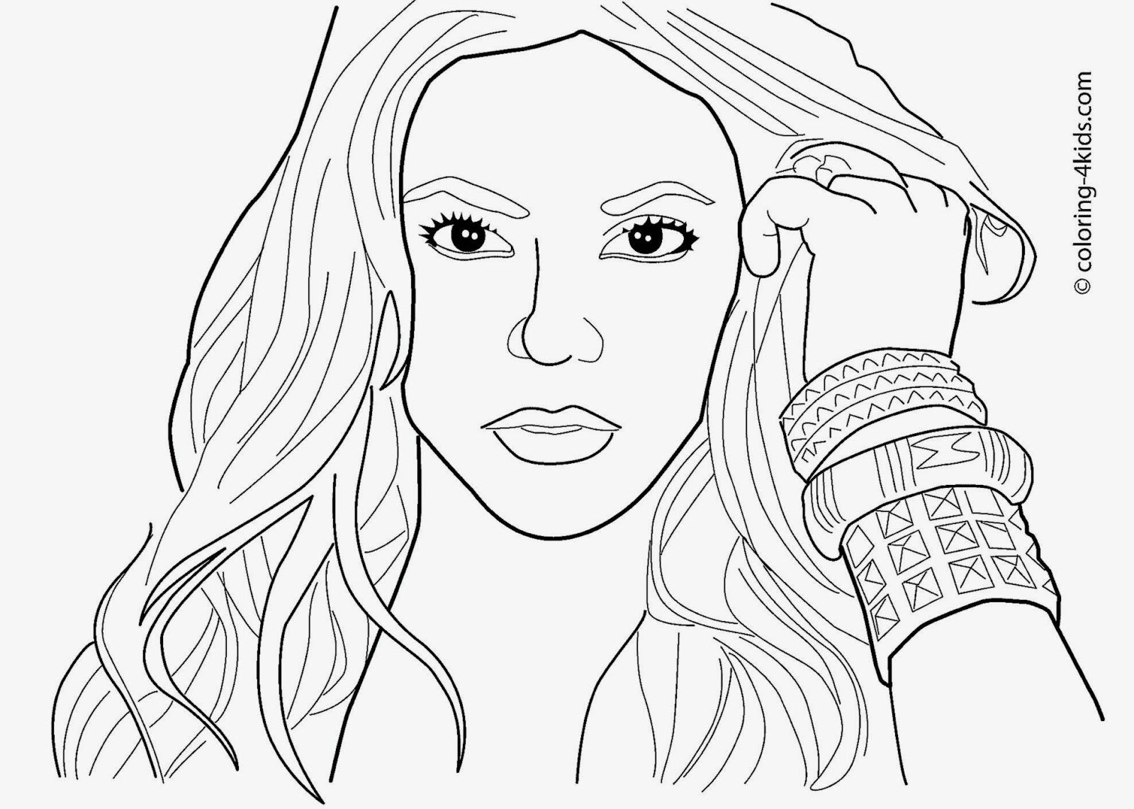 1600x1141 Marvelous Celebrity Coloring Pages Picture Of Famous People